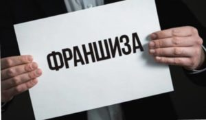 плакат франшиза